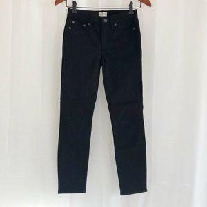 J. Crew Toothpick Jeans Black